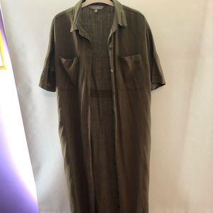 Kenar shirt dress/overlay